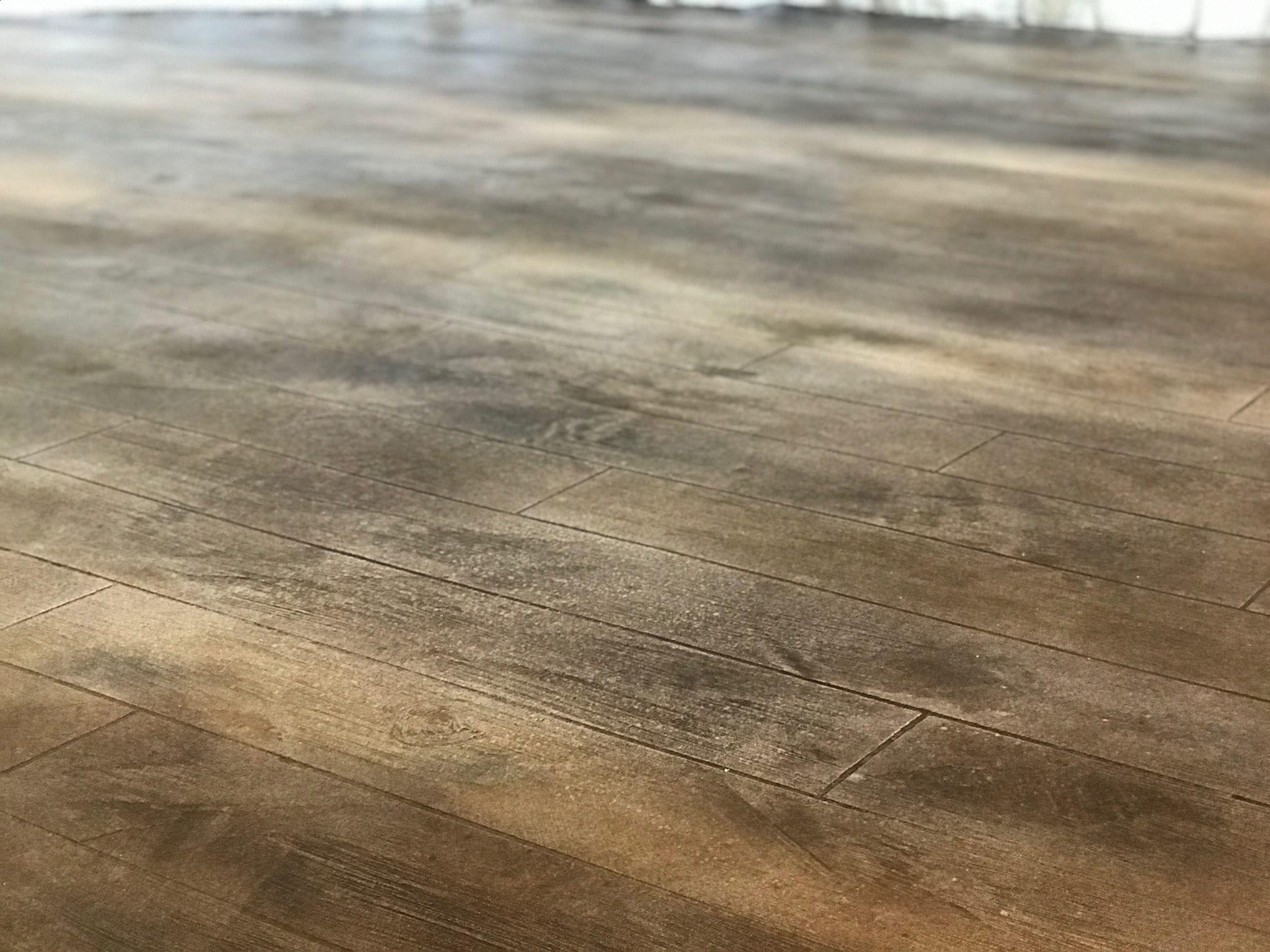 faux wood resurfaced floors