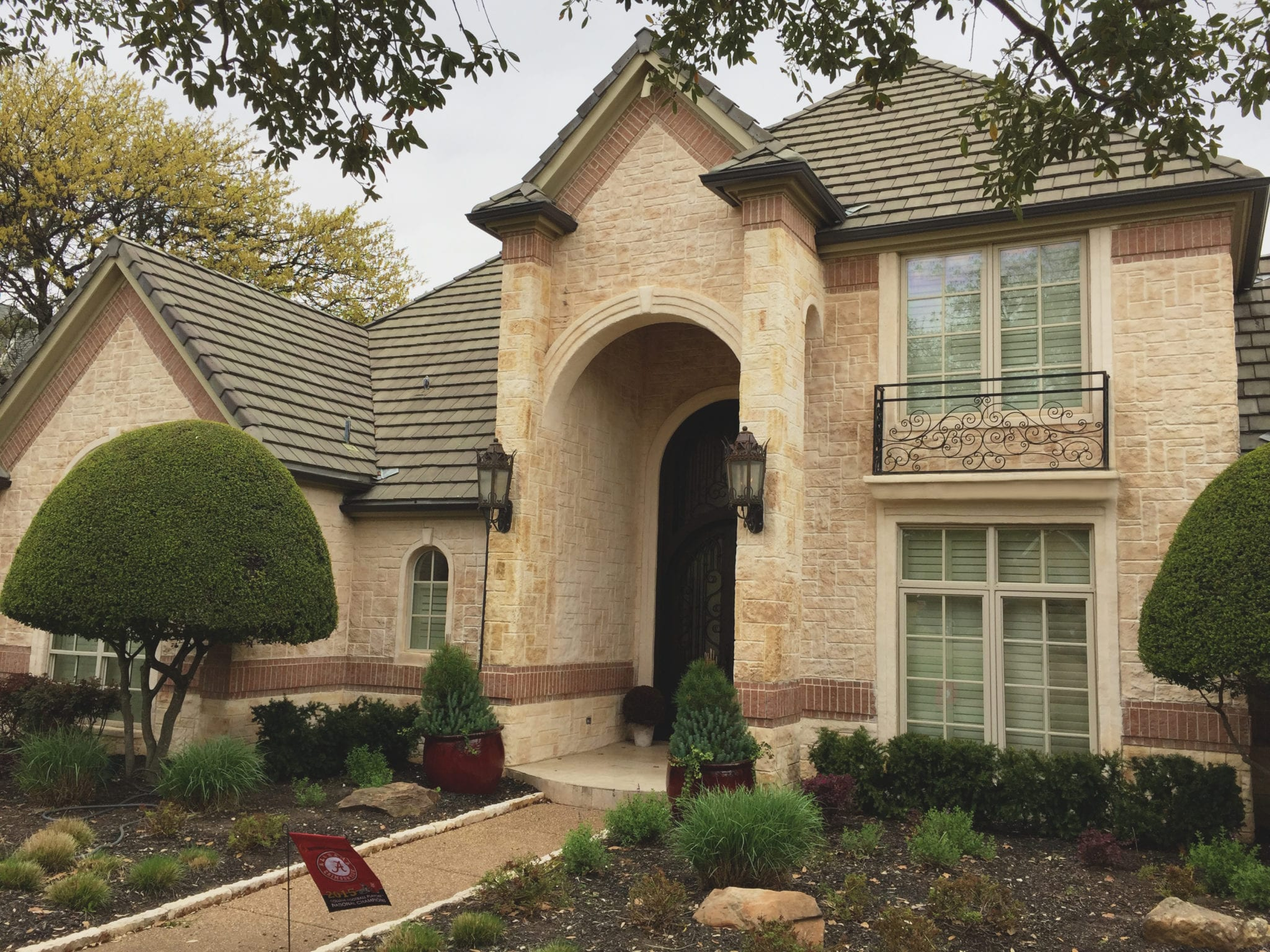colleyville house front resurface