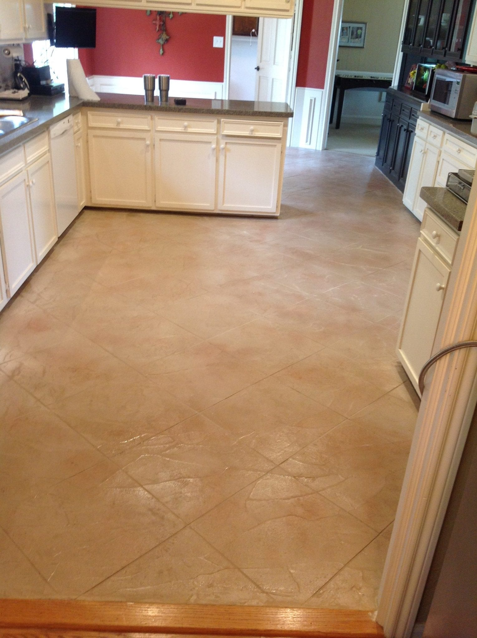 kitchen flooring stone