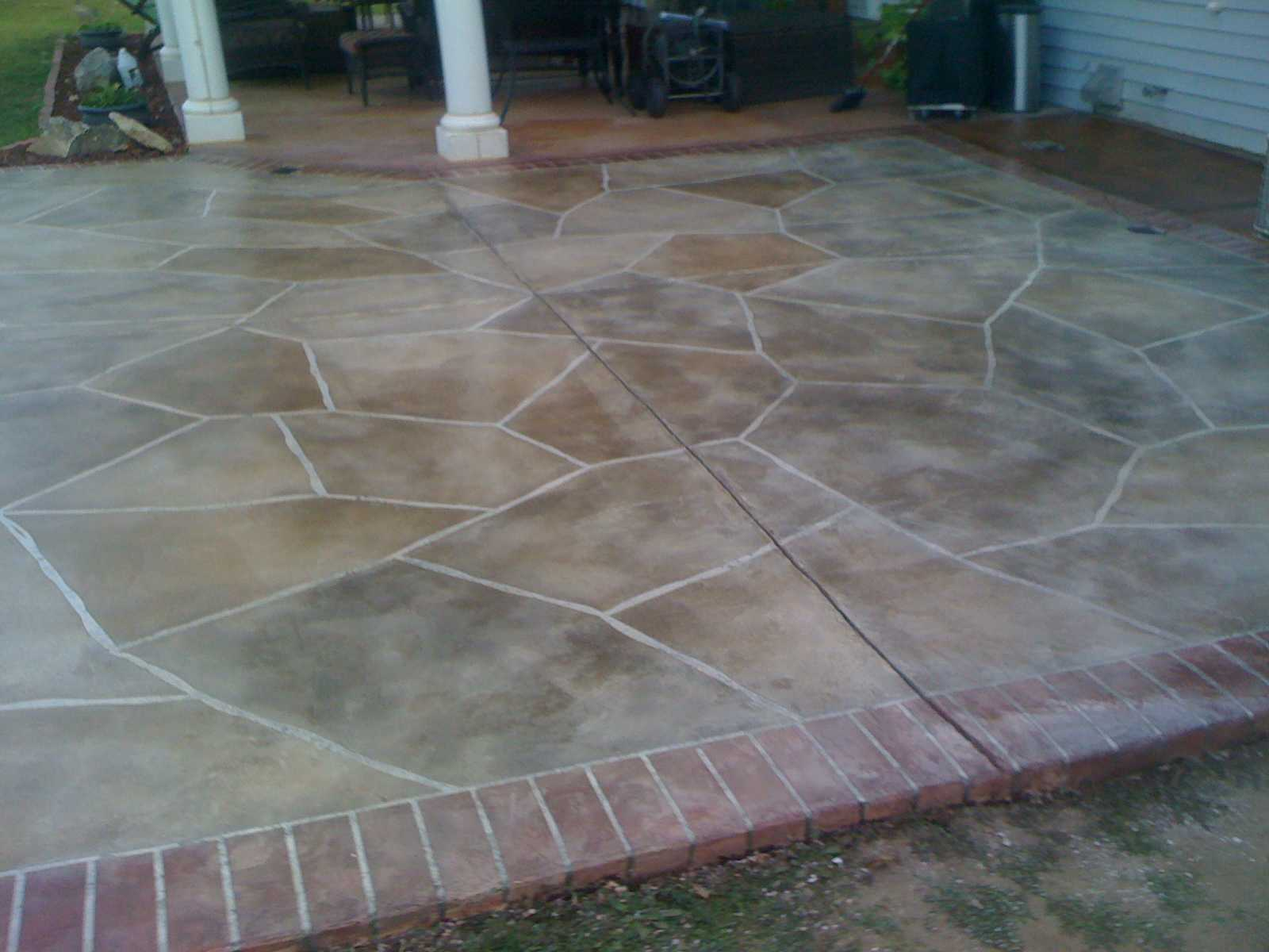 stone remodeled driveway